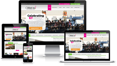 Fully Responsive and Mobile Ready